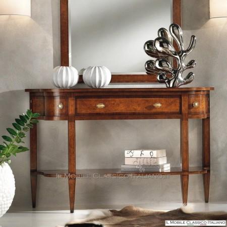 Consolle da ingresso mobili in stile classico for Stile casa classica