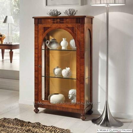 Vetrina classica in legno