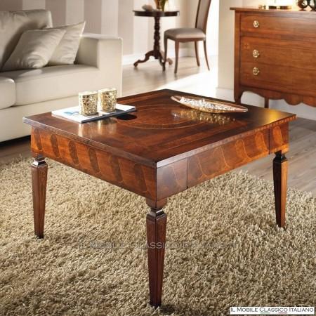 Tavolino da salotto piccolo classico