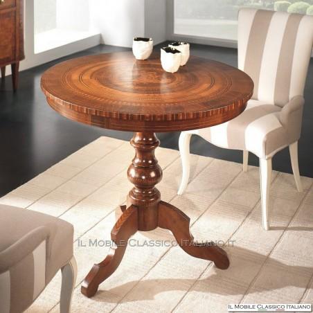 Tavolino sorrentino con intarsio San Giorgio cod. 477
