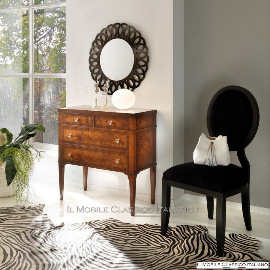 Specchio rotondo contemporaneo artigianale mobili classici - Specchio rotondo ...