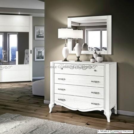 Specchio camera da letto in legno mobili classici italiani - Specchio x camera da letto ...
