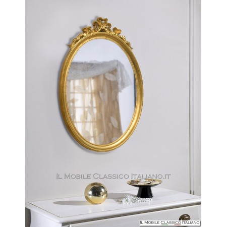 Specchio ovale barocco 70003