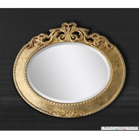 Specchiera bagno ovale