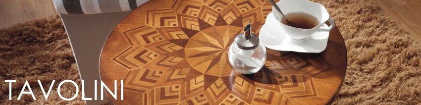 Tavolini da salotto classici