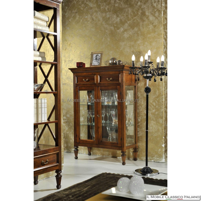 Credenza con vetrina credenza vetrina vetrinette for Occasioni mobili classici
