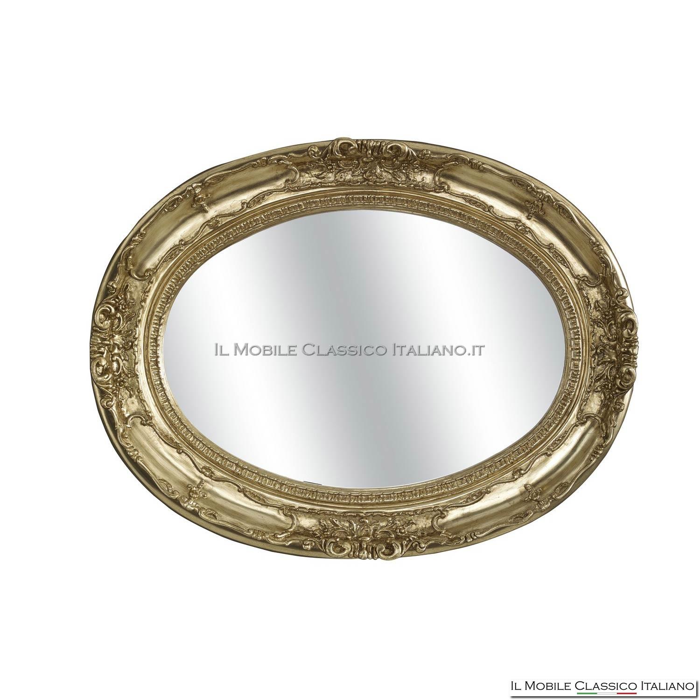 Specchiera ovale stile classico il mobile classico italiano for Il mobile classico