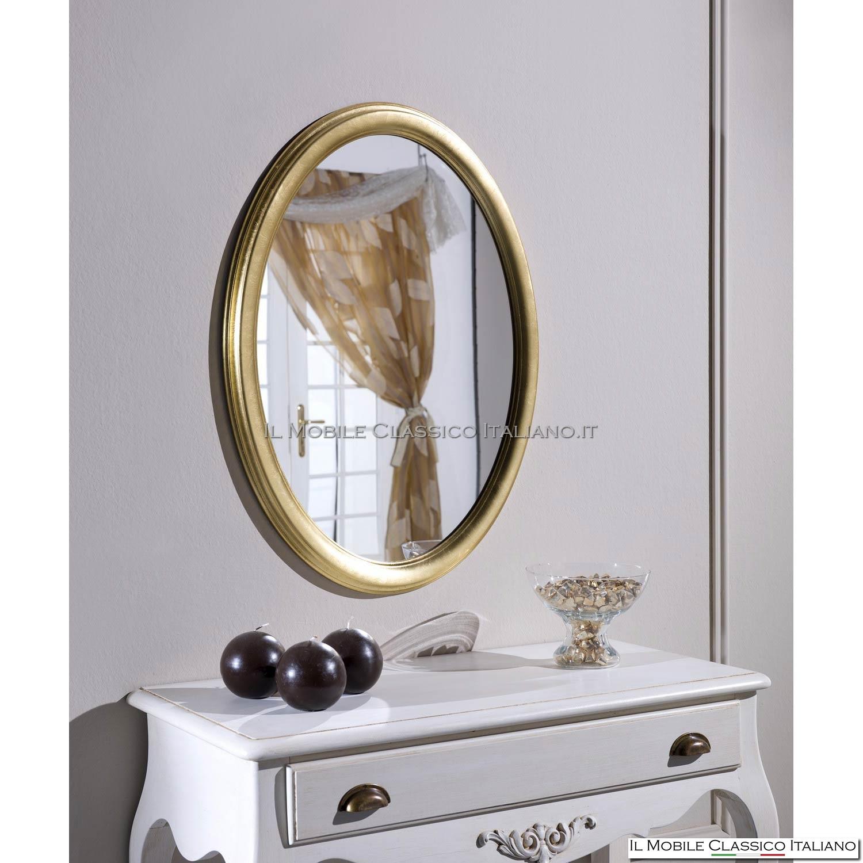 Specchiera specchio rotonda cod 70276 69 - Specchi rotondi da parete ...