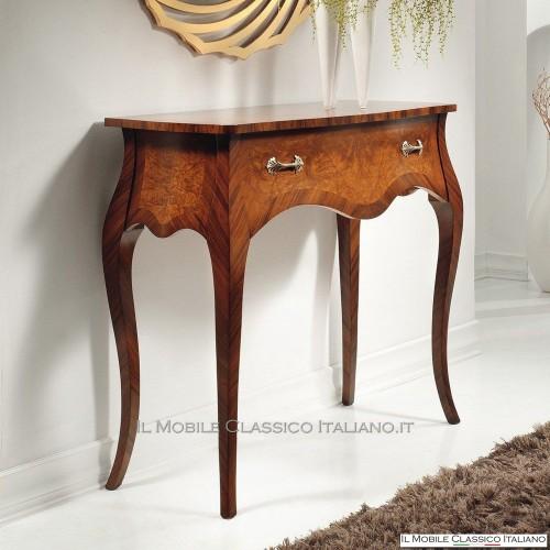 Mobili classici in legno massello mobili classici per l for Mobili consolle ingresso classiche